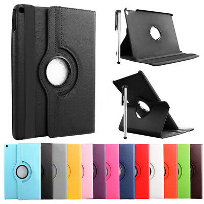 Smart Leather 360° Degree Rotating Stand Case Cover For iPad Air 2 3 4 Mini Pro