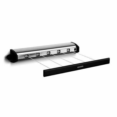 New Brabantia Indoor Retractable 22M Clothes Line Pull Out Airer Clothesline 090