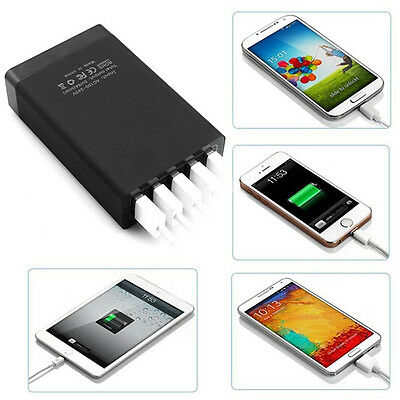 Qualcomm Certified Quick Charge 8.0A 5 Ports USB Adaptive Fast Charger SE3