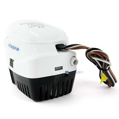 New DC12V Submersible 750 GPH Marine Boat Bilge Pump Automatic Float Switch FT