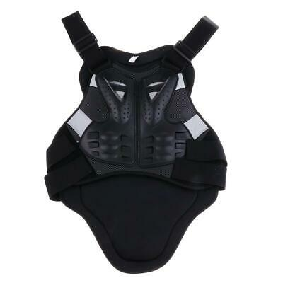 Motorcycle Motocross Back Protector Body Armour Spine Protector Black Colour