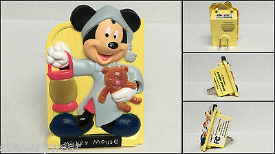 Disney MICKEY MOUSE Talking Night Light (6 phrases) Walt Disney World WDW EUC