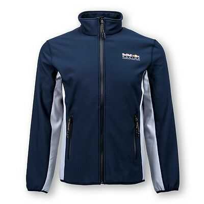 Red Bull F1 Racing Official SoftShell Bonded Fleece Jacket - Mens
