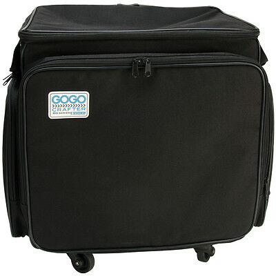 GOGO 300 Crafter Rolling Tote-Black ST0002