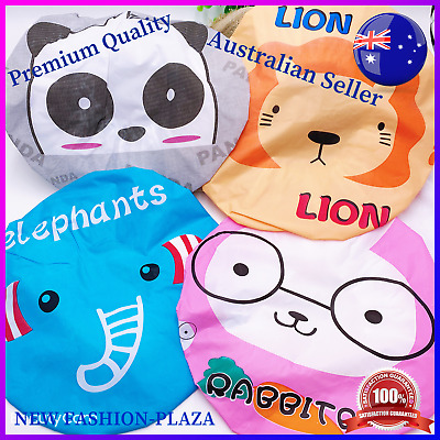 Brand New Cute Kids Children Waterproof Bath Shower Cap/ Soft Head Hat/Lace 1