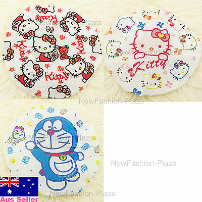 Brand New Cute Kids Children Waterproof Bath Shower Cap/ Soft Head Hat/Lace 2