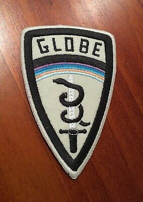 Globe - Patch : Sew On / Iron On (skateboard) New!