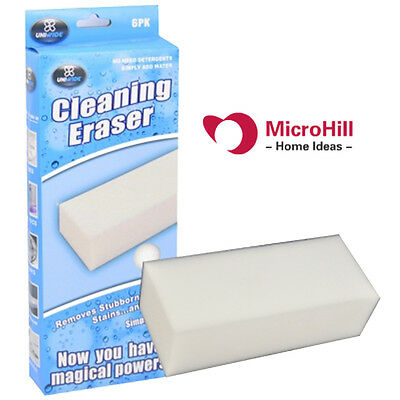12pcs Cleaning Eraser Magic Sponge Sponges Melamine Cleaner Marks Stain Remover
