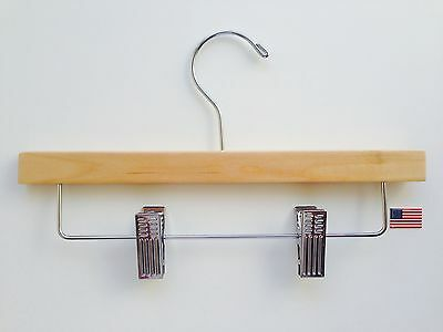 Child or baby Natural Skirt/Pant Bottom Hangers  Box of 50