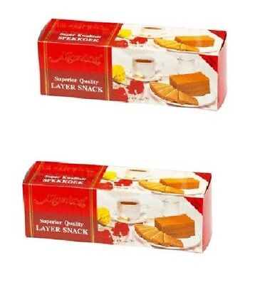 2 Monica Lapis Legit Layer Cake Original Indonesian Snack Halal