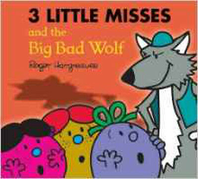 The Three Little Miss and the Big Bad Wolf (Mr. Men & Little Miss Magic), New, H