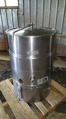 Cleveland Chocolate Melter Mixer Tempering KEP-40 Gallon Jacketed Steam Kettle