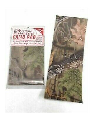REALTREE CAMO Micro SUEDE ADHESIVE Backed Peel And Stick Tape PAD FREE SHIP #14