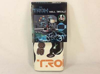 Disney Tron Legacy Peel & Stick Wall Decals With One Bonus Sheet Sam Light Cycle