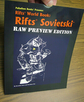 Rifts World Book: Rifts Sovietski  -- RAW Preview Ed. - only 150 copies made