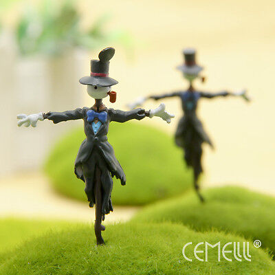 Studio Ghibli Vivid Howl's Moving Castle Scarecrow PVC Figure 7.5cm Doll Toy