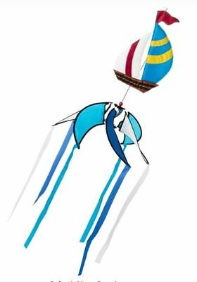 New In The Breeze Sailboat Spinner