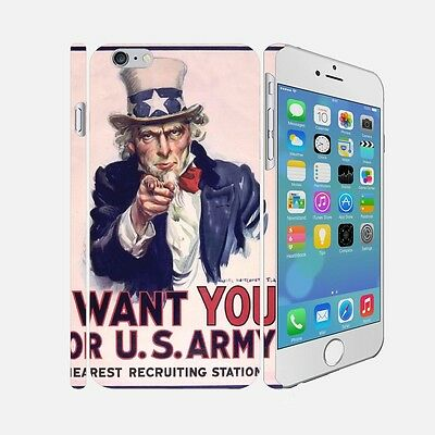 F001 ARMY - Apple iPhone 4 5 6 Hardshell Back Cover Case