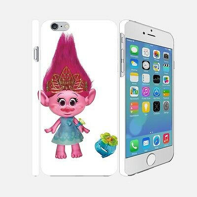 F001 Trolls - Apple iPhone 4 5 6 Hardshell Back Cover Case
