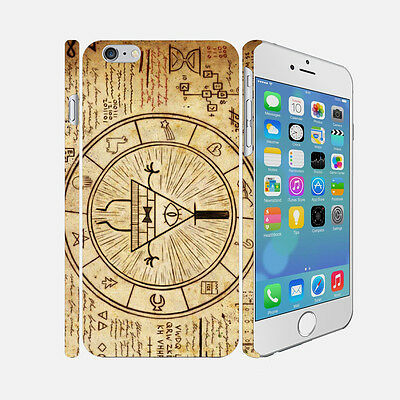 F002 Gravity Falls - Apple iPhone 4 5 6 Hardshell Back Cover Case