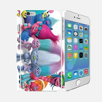 F005 Trolls - Apple iPhone 4 5 6 Hardshell Back Cover Case