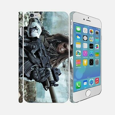 F011 ARMY - Apple iPhone 4 5 6 Hardshell Back Cover Case