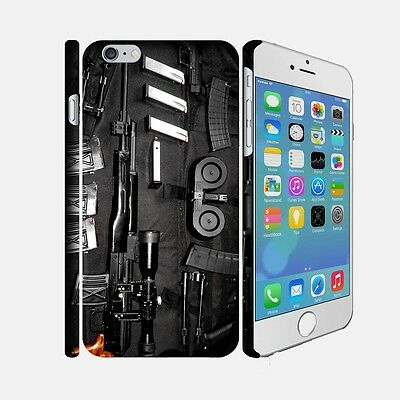 F077 ARMY - Apple iPhone 4 5 6 Hardshell Back Cover Case