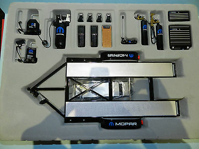"GMP 1/18 Tool and Trailer Set ""Mopar""  Garage Accessories. Great for dioramas"