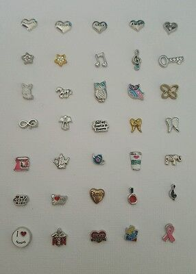 Your Choice 5 Charms for Floating Living Memory Locket