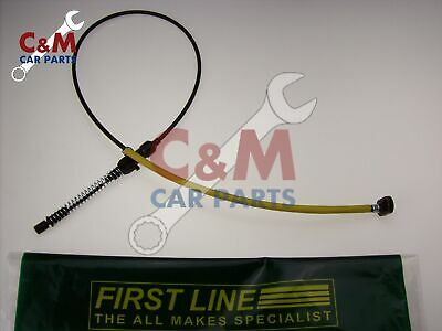 THROTTLE  CABLE for FORD CAPRI MK 3-1.6 & 2.0 from 1978 to 1987  NEW