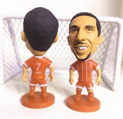 Statuina doll FRANCK RIBERY BAYERN MUNICH football action figure 7 cm futbolista