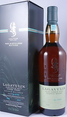 Lagavulin 1999 16 Years The Distillers Edition Scotch Whisky lgv.4/504 43,0%