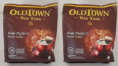 2X Old Town OldTown Nanyang White Coffeemix Malaysia Instant Coffee Halal