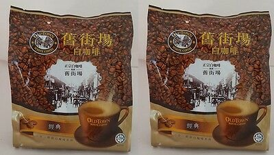 2X OldTown Old Town White Coffee Classic Instant Coffeemix 3 in 1 Halal 15x30g