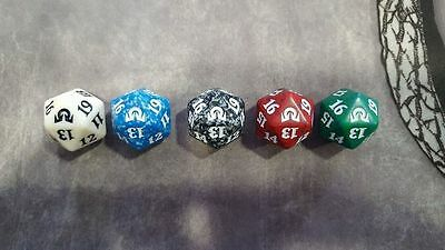 1x Dice DADO D20 Spindown Lifecounter mtg Shadow Over Innistrad Ombre su SOI