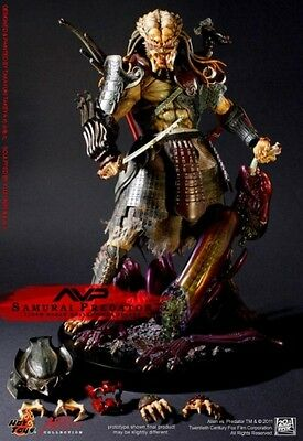 1/6 Scale Fully Poseable Figure : Alien Vs Predator - Samurai Predator New Japan