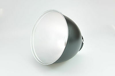 65 Degree Silver Reflector For Elinchrom Photo Studio Flash + Diffuse Cap