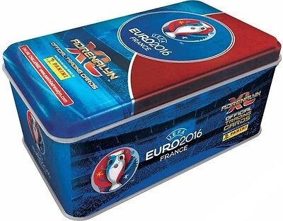 Tin EURO 2016 France Adrenalyn XL Panini (10 x Booster + 3 x Limited)