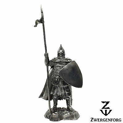 "Tin Toy SOLDIER 54mm RUSSIAN Knight MEDIEVAL Lancer BOYAR 1/32"" Metal Tin Figure"