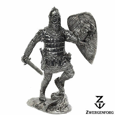 Tin Toy SOLDIER 54mm RUSSIAN Warrior MEDIEVAL Knight BOYAR 1/32 Metal Tin Figure