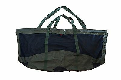 Deluxe Folding Carp / Specimen Fishing Weigh Sling 123x60cm with Carry Pouch