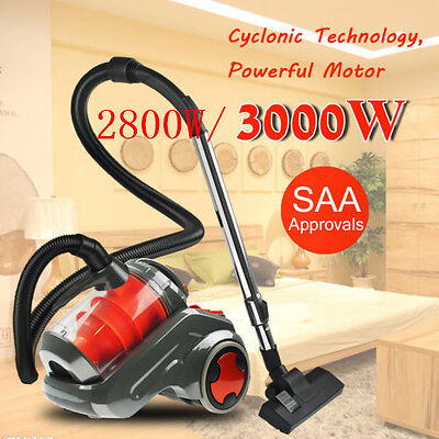Bagless Multi Cyclone Cyclonic Design Dust Vacuum Cleaner Filtration System AU