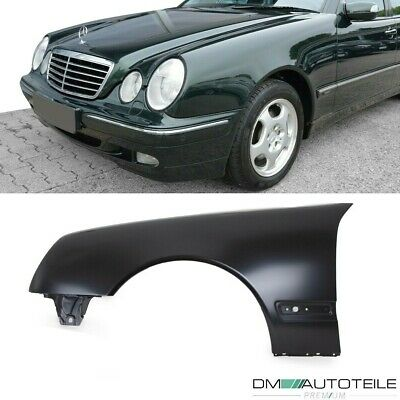 Mercedes W210 S210 Kotflügel Fender Links 99-03 Mopf Facelift ohne Blinkerloch