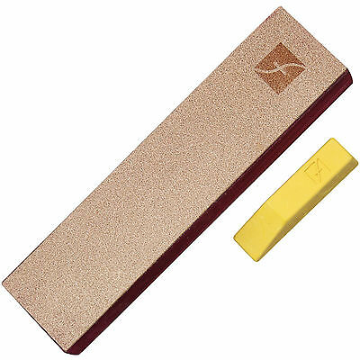 "Flexcut 8"" x 2"" Leather Knife Strop With Polishing Compound FLEXPW14"