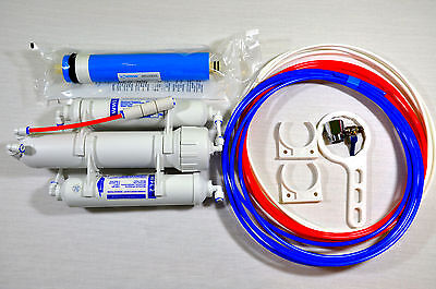 3 Stage Reverse Osmosis Compact Pure Water Filter for Tropical Marine Fish RO