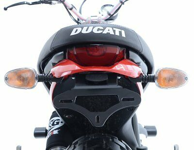 R/&g Tail Tidy//Licence Support de plaque Ducati Scrambler Icon 2015 LP0177BK Noir