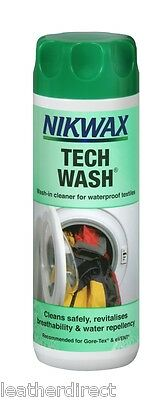 Nikwax Tech Wash Wash-in cleaner for waterproof clothing and equipment UK Free