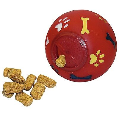 Kerbl Dog Snack Ball 11 cm Dia Red Toy
