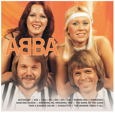ABBA  - Icon (CD) • NEW • Greatest Hits, Best of, Mamma Mia, Dancing Queen