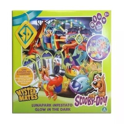 "Scooby Doo ""lunapark Infestato"" Glow In The Dark Playset Toy With Figure"